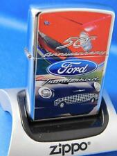 ZIPPO LIGHTER FORD THUNDERBIRD 50 th ANNIVERSARY  SEALED CAR TRUCK COLLECTOR