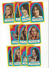 1977 TOPPS CHARLIES ANGELS 3RD SERIES COMPLETE STICKER SET
