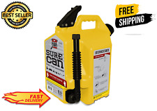 5 Gallon Self Venting Diesel Fuel Can Container With 180 Degree Rotating Nozzle