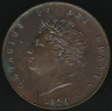 1826 George IV Halfpenny Coin | British Coins | Pennies2Pounds