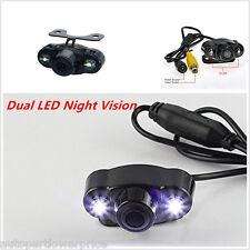 170° 2 LED Waterproof Reverse Backup Car Rear View Night Vision Parking Camera