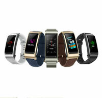 "Huawei Talkband B5 Wristband Smartband 1.13"" Color AMOLED Touch Screen Headset"