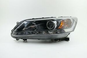 GENUINE OEM|2013-2015 Honda Accord SEDAN Halogen w/ LED DRL Headlight (Driver)