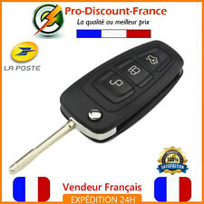 Key Case For Ford Focus Grand C Max C-Max Mondeo FO21 Remote Control 3 Buttons