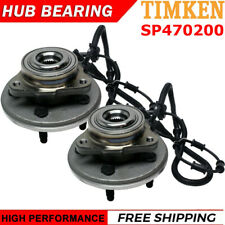 TIMKEN SP470200 Front Wheel Hub & Bearing Left & Right Pair Set for Ford Mercury