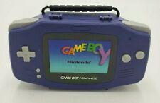 Official Nintendo GameBoy Advance Plastic Carrying Case Indigo 2002