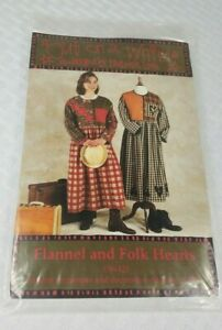 Out On A Whim FLANNEL AND FOLK HEARTS JUMPER  Pattern #OW425 Sizes S-XXL NEW