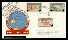 DR WHO 1967 TOKELAU ISLANDS FDC OVERPRINT  C232024