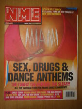 NME 2001 APR 7 MIAMI SEX DRUGS & DANCE STEREOPHONICS