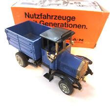 ZISS Modèle on Oldtimer pieux camion neuf dans sa boîte de 1:43 #