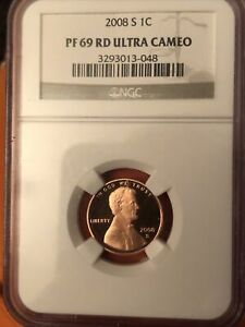 2008 S Lincoln Proof NGC PF 69 RD ULTRA CAMEO. #3293013-048