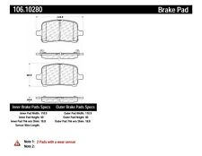 Disc Brake Pad Set-Rear Disc Front Centric 106.10280