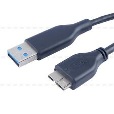 USB 3.0 Charger + Data SYNC Cable Cord Lead For  External Hard Drive Disk SG