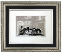 "Original Henry Moore 'Composition II"" Lithograph, Modernist, Hand Signed"