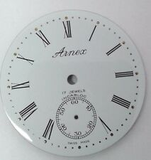 Eaglestar-Arnex pocket watch dial for UT-6498 mov. 40.6 mm