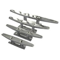 Stainless Steel Boat Cleat. Low Flat Cleat. Deck Cleat. 316 Stainless: Freepost
