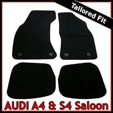 Audi A4 Saloon B5 1995-2001 Tailored Carpet Car Floor Mats BLACK