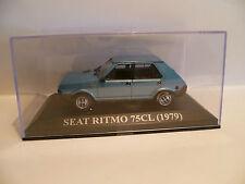 SEAT RITMO 75 CL BLEU de 1979 ~  NEUF