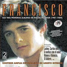 FRANCISCO-SUS 3 PRIMEROS ALBUMES-CD