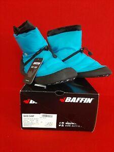 BAFFIN BASE CAMP 3XL Unisex Booty Slipper Electric Blue - New
