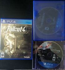 Witcher 3 Fallout 4 & Dishonored 2 PS4 Video Games Missing Case Wild Hunt User