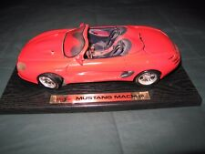 MUSTANG MACH III/die-cast by Maisto Very Good Condition