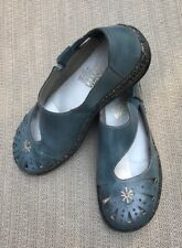 "Women's Reiker ""ANTISTRESS"" slate blue Mary Jane-style shoes, size 38"
