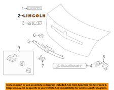 Lincoln FORD OEM 09-15 MKS Trunk Lid-Emblem Badge Nameplate 8A5Z5442528A