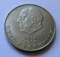 20 Mark DDR GDR Otto Grotewohl 1894 - 1964 Gedenkmünzen 1973 A