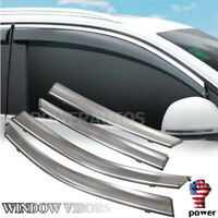 For Honda CIVIC Sedan 2016-2019 Window Visor Vent Shade Guard Door Visor POWER