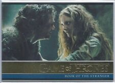 2017 Game of Thrones Season 6 GOLD FOIL Card #11 Book of the Stranger.  104/150