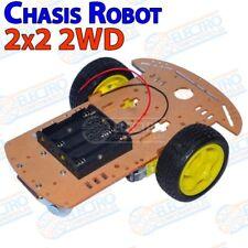 Kit Chasis 2WD Robot Smart Car Coche 2 ruedas Arduino Electronica DIY