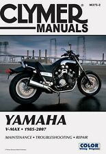 CLYMER SERVICE REPAIR MANUAL YAMAHA V-MAX VMX12 1985-2007 2006 2005 2004 2003