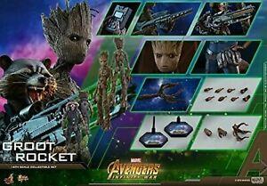 Hot Toys Groot & Rocket Infinity War