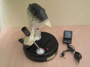 Big mouth Billy Bass – Rocking Fish - singender Fisch mit Bewegung + Netzteil