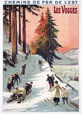 Affiche chemin de fer Est - Vosges 2