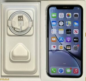 Apple iPhone XR - 64GB - White (Unlocked) Very good condition