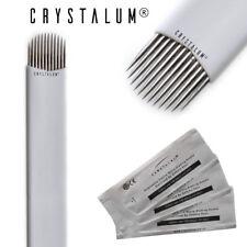 Microblading Blades Needles Tattoo Eyebrow Makeup Disposable Manual CRYSTALUM