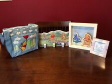 Winnie The Pooh Nursery Lot, Nwot Bottle Bag, Pictures, Wall Hanger