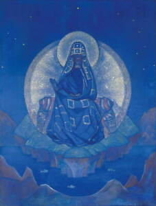 Nicholas Roerich The Mother of the World Giclee Paper Print Poster Reproduction