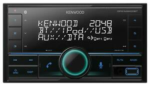 Kenwood DPX-M3200BT Doppel-DIN MP3-Autoradio Bluetooth iPod AUX-IN USB