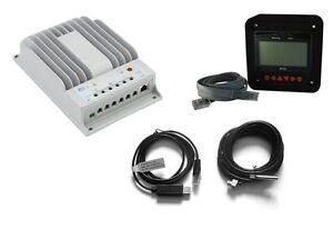 Solarregler Tracer MPPT1215BN,2215BN,3215BN, EPsolar m.MT50,T-fühler,USB-Adapter
