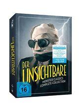 DER UNSICHTBARE - MONSTER CLASSICS - COMPLETE COLLECTION 8 BLU-RAY + 6 DVD NEU