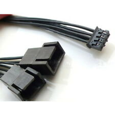 Mini 4-Pin GPU to 2 x 4-Pin PWM Fan Adapter