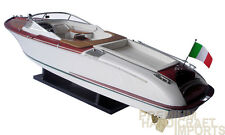"34"" Riva Gucci Display Wooden Model Boat"