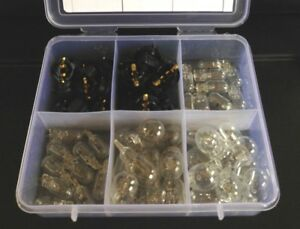 Fit Toyota Lightbulbs Wedge Socket Kit Instrument Panel Cluster Dashboard NOS