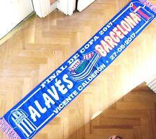 BUFANDA SCARF FC BARCELONA - DEPORTIVO ALAVES FINAL COPA 2017 V. CALDERON SCHAL