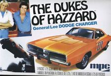 MPC Models Kits Dukes Of Hazzard General Lee Dodge Charger 1/25 Scale MPC706L