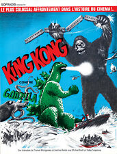 King Kong Vs Godzilla (1962) horror cult movie poster 24x31 inches approx.