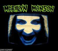 MARILYN MANSON cd cvr GET YOUR GUNN Manson TV Official SHIRT LAST MED New oop